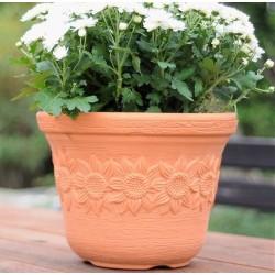 Sunny flowerpot, 35 cm