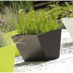 Tubus Case flowerpot, Black