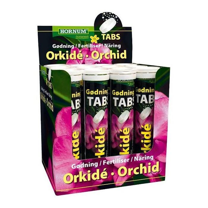 Brusetabletter med orkidégødning