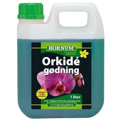 Gødning Orkidé