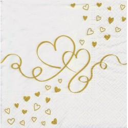 Servietter - Love around