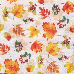 Paper Napkins - Falling leaves