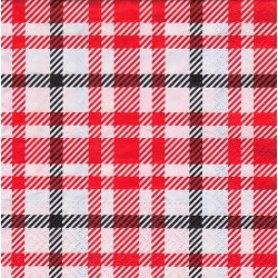 Servietter - Picnic style red