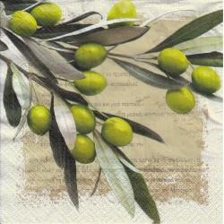 Servietter - Greek olives