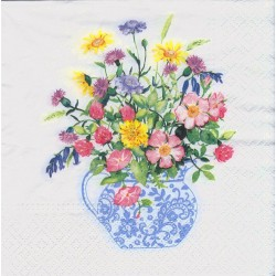 Paper Napkins – Vase with...