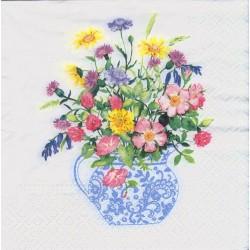 Servietter – Vase with flowers