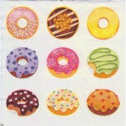 Servietter - Tasty Donuts