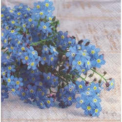 Paper Napkins - Forget-me-not