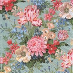Paper Napkins - Calm flowers