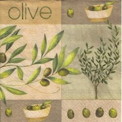Paper Napkins - Olive garden