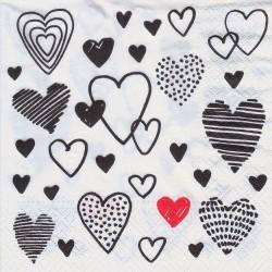 Paper Napkins - Crazy love...