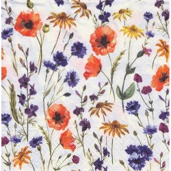 Paper Napkins - Field Flowers