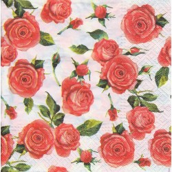 Paper Napkins - Rosy style