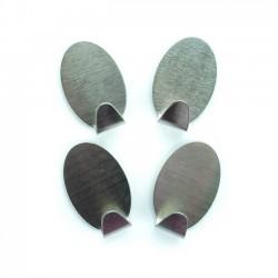 Adhesive Hooks,  4 pcs