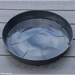 Saucer - Lofly, Round, Black
