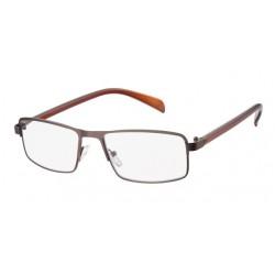 Læsebrille - 1033, rødbrun