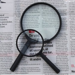 Magnifying glass, 2 pcs