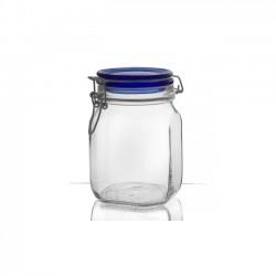 Opbevarinsglas - Fido blue, 1l
