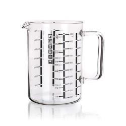 Målekande, 1 liter, glas