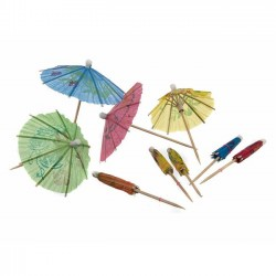 Cocktail Umbrellas, 10 pcs