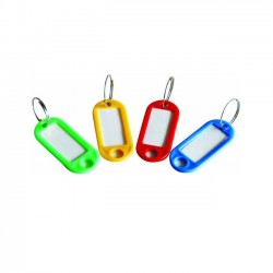 Plastic Key Tag, 10 pcs