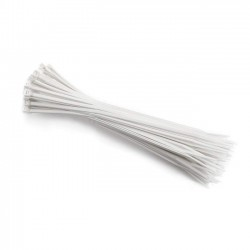 Cable Ties, 12 cm, White