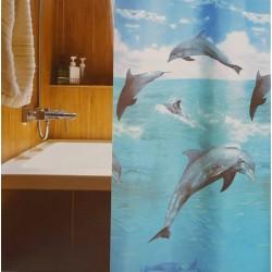 Shower Curtain - Dolphin...