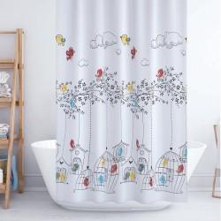 Shower Curtain - Birds,...