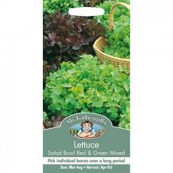 Lettuce, Picking 'Red Salad...