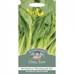 Choi Sum, Brassica oleracea...