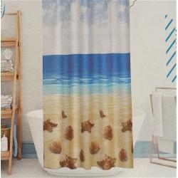 Shower Curtain - Beach,...