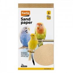 Sandpapir, 7 stk