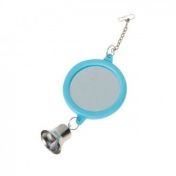 Mirror Bird Toy With Bell