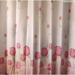 Bruseforhæng - Pink Rose,...